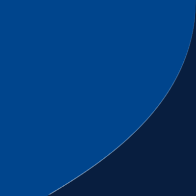 Blue curved corner of the Penn State shield over a navy background.